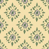 Seamless with vintage floral pattern.  — Stock Vector