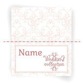 Name Cards design template — Stock Vector
