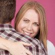 Woman and Man Hugging — Stock Photo #63713755
