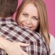 Woman and Man Hugging — Stock Photo #63713779