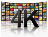 4k resolution tv concept. — Foto Stock