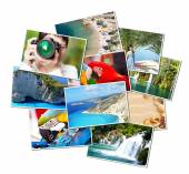 Pictures of holiday. — Stock Photo