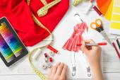Fashion designer — Stock Photo