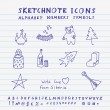 Doodle Russian Icons — Stock Vector #52787965
