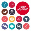 Halloween Icons — Stock Vector #54283401
