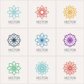 Vector ornamental symbols — Stock Vector
