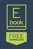 Flat Ebook free download icon — Vector de stock