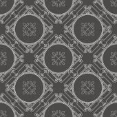 Ornamental Geometric Pattern — Stock Vector