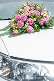 Wedding car — Stockfoto