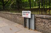 Kensingtone  road — Stock fotografie