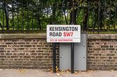 Kensingtone  road — Stock Photo