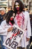 World Zombi day - London 2014 — Stock Photo
