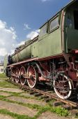 老蒸汽机车 — 图库照片