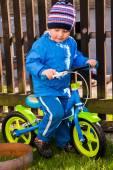 Balance bike — Stock Photo