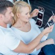 Happy White Couple Looking at Ultrasound Results — Stock Photo #59308235