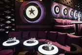Dance club interior. Bulgaria — Stock Photo