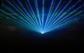 Disco light show, Stage lights — Stock Photo