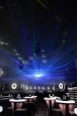 Disco light show, Stage lights — ストック写真