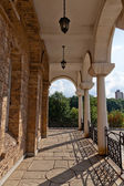 The Art Gallery view from Assenevtsi in Veliko Tarnovo — Stock Photo