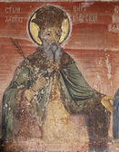 Icon of St. David — Stock Photo