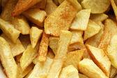 Batatas fritas — Fotografia Stock