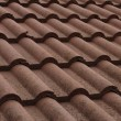 New bulgarian roof tiles close up detail — Stock Photo #60190463