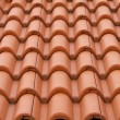 New bulgarian roof tiles close up detail — Stock Photo #60201279