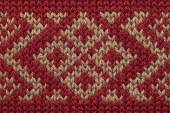 Knitted woolen background closeup — Stock Photo