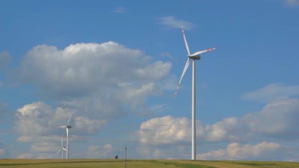 Turbine éolienne — Vidéo