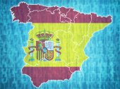 Spain administrative divisions  — Stock Photo