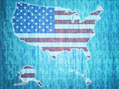 Usa administrative divisions  — Stock Photo