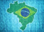 Brazil administrative divisions  — Stock Photo