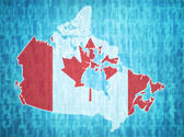 Canada administrative divisions  — Stock Photo