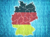 Germany administrative divisions  — Stock Photo