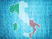 Italy administrative divisions  — Stock Photo