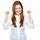 Young successful businesswoman — Stock Photo
