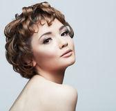 Güzel kadının yüzü — Stok fotoğraf