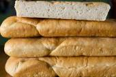 Bread stack  — Stock Photo