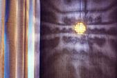 Shadow of art light reflecting on wall — Photo