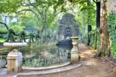 Paris. Old fountain Medici  — Stock Photo