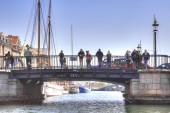 チャネルは都市コペンハーゲンで — ストック写真