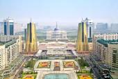 Astana. View from the bird's-eye view — Stock Photo