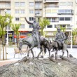 Постер, плакат: San Sebastian Fountain of Don Quixote de la Mancha