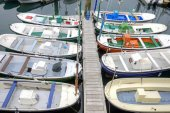 San-Sebastian. Boats      — Stock Photo
