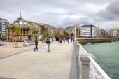 San Sebastian. Cityscape. European Capital of Culture  — Stock Photo