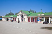 Train station Feodosia — Stock Photo