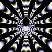 Muster aus ein fraktal — Stockfoto