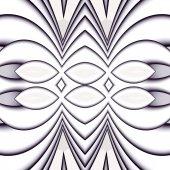 Modèle d'une fractale — Photo