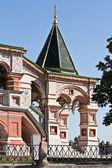 Temple of Vasiliy Beatific. Porch — Foto de Stock