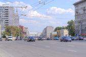 Moskou. straat tuin ring — Stockfoto
